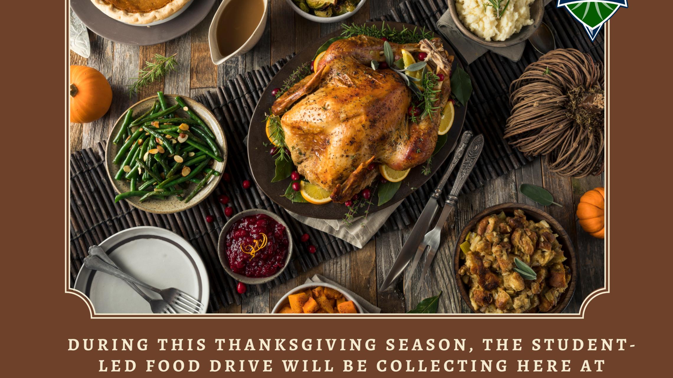 Rustic Thanksgiving Fundraiser Instagram Post